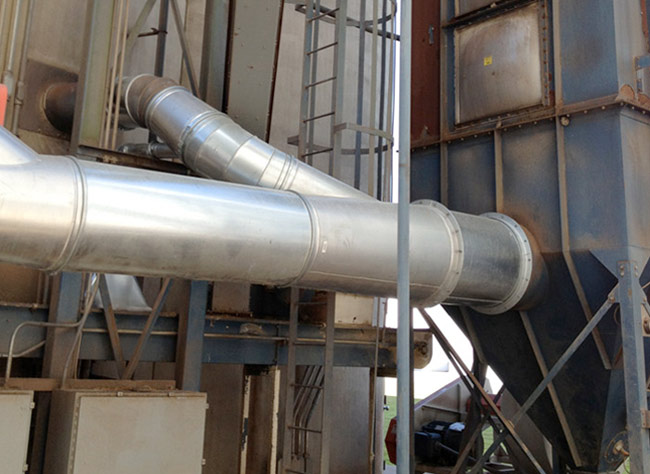 flour processing ducting